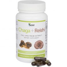 Chaga Reishi Extract Dietary Supplement