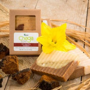 Chaga Soap with Red wine and Spices