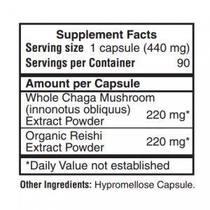chaga extract dietary supplement