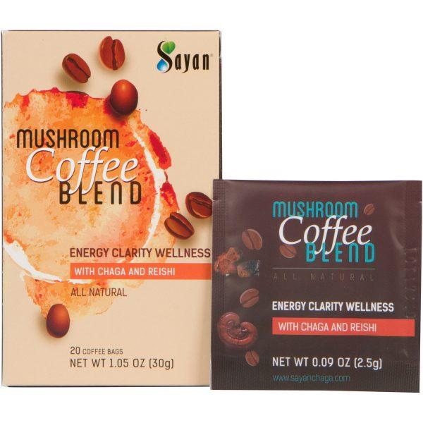 Coffee Blend with Chaga & Reishi