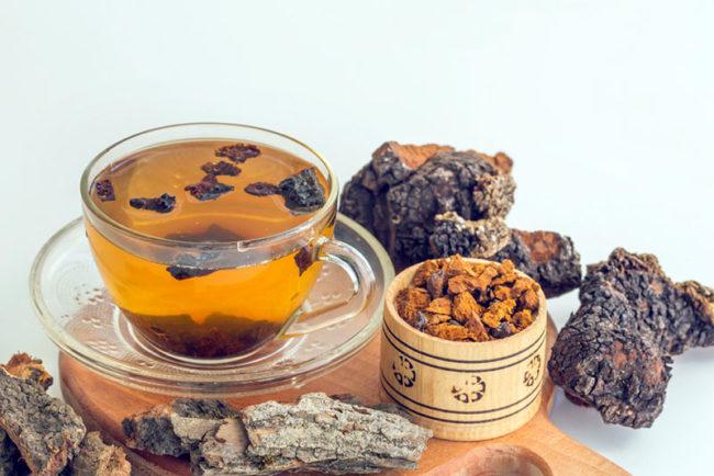 chaga tea storage
