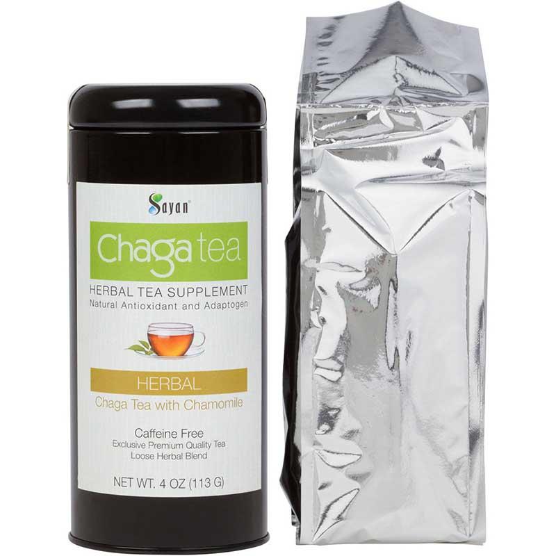 Chaga Loose Tea with Chamomile