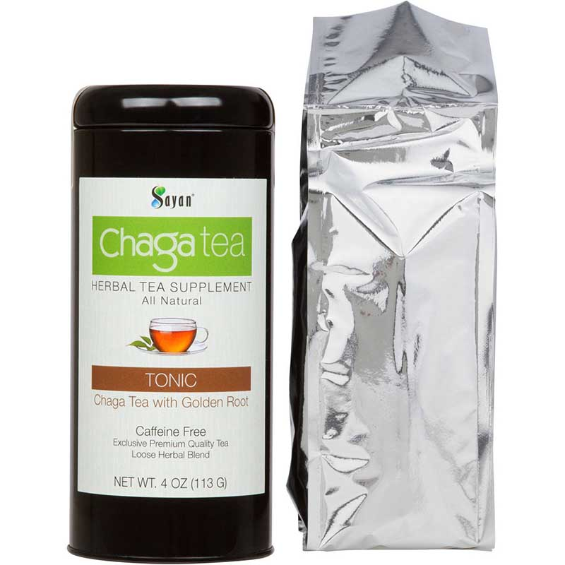 Chaga Tea with Golden Root