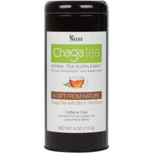 Chaga Loose Tea with Birch Tree Buds