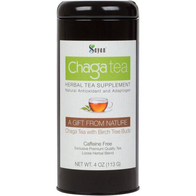 Chaga Loose Tea with Birch Tree Buds