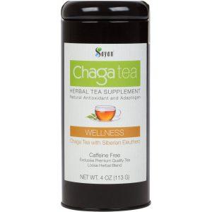 Chaga Mushroom Tea with Eleuthero
