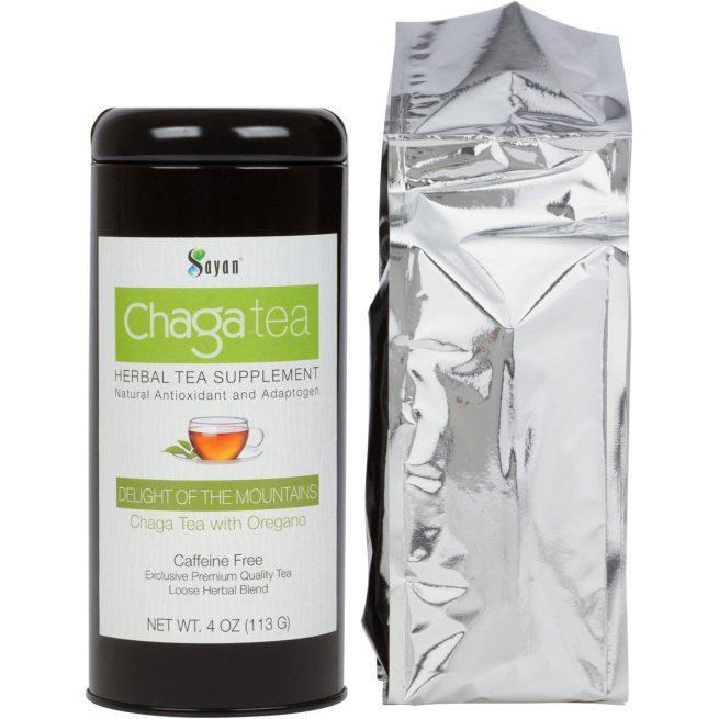 chaga tea oregano