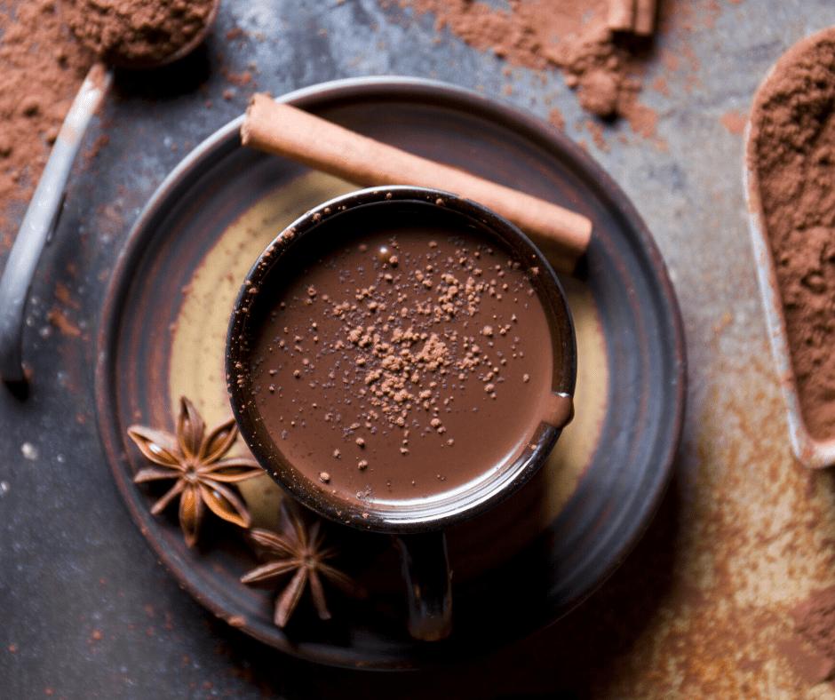 Chaga Mushroom Hot Chocolate
