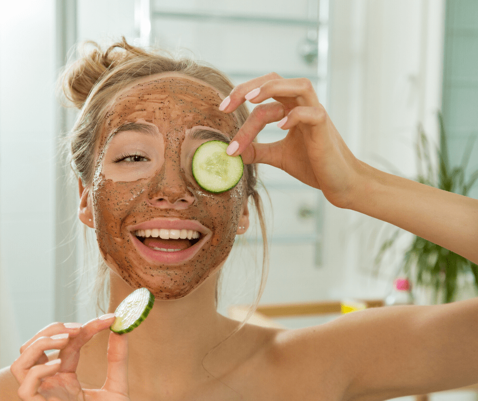 Face mask with Betulin
